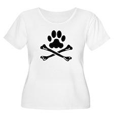 Pirate Dog Plus Size T-Shirt