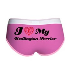 bedlington terrier black Women's Boy Brief