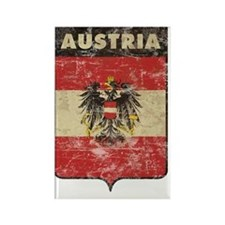 vintageAustria11 Rectangle Magnet