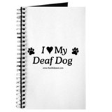 Love My Deaf Dog Journal