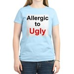 Allergic To Ugly Women's Light T-Shirt