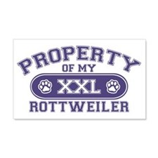 rottweilerproperty Wall Decal