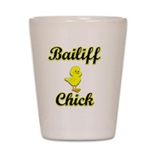 Bailiff Chick Shot Glass