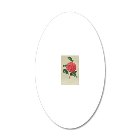 camile 20x12 Oval Wall Decal