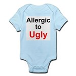 Allergic To Ugly Infant Bodysuit