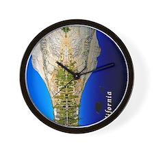 ipad case_0077_california_yosemite_29_b Wall Clock