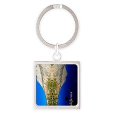 ipad case_0077_california_yosemite Square Keychain