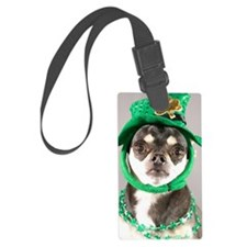 St. Patricks Day Dog Luggage Tag