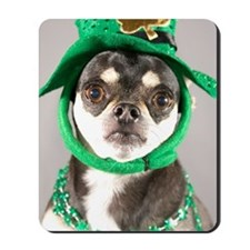 St. Patricks Day Dog Mousepad