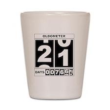 Oldometer 21 Shot Glass