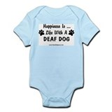 Life With a Deaf Dog Onesie