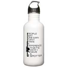 People say one man Water Bottle