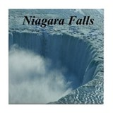 Horseshoe Falls Tile Coaster