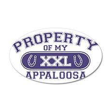 appaloosaproperty 35x21 Oval Wall Decal