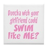 SwimChick Doncha Tile Coaster