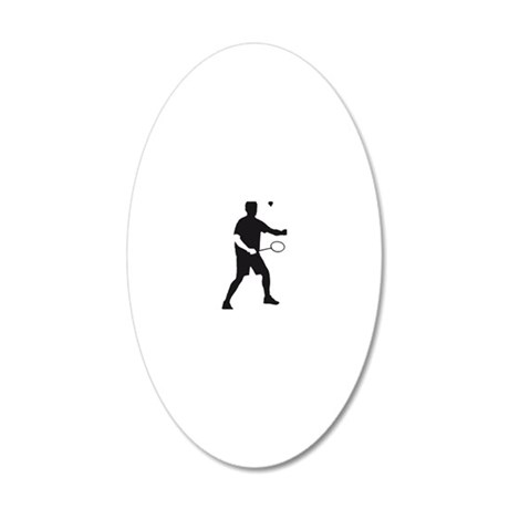 Badminton_02_2012_A_1c 20x12 Oval Wall Decal