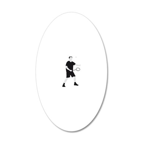 Badminton_02_2012_A_2c 20x12 Oval Wall Decal