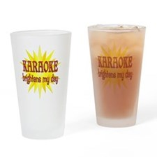 KARAOKE Drinking Glass