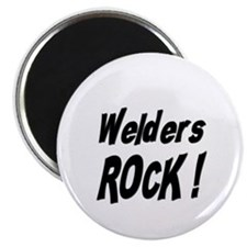 "Welders Rock ! 2.25"" Magnet (100 pack)"