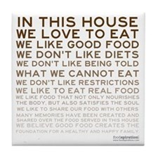 FOOD_IN-THIS-HOUSE_BROWN_PRODUCTS Tile Coaster