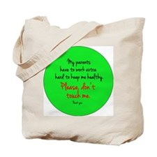 donttouch Tote Bag