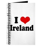 I Heart Ireland Love Journal