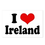 I Heart Ireland Love Postcards (Package of 8)