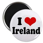 I Heart Ireland Love Magnet