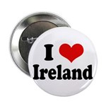I Heart Ireland Love Button