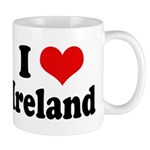 I Heart Ireland Love Mug