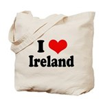 I Heart Ireland Love Tote Bag