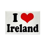 I Heart Ireland Love Rectangle Magnet (10 pack)