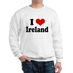 I Heart Ireland Love Sweatshirt