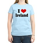 I Heart Ireland Love Women's Light T-Shirt