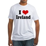 I Heart Ireland Love Fitted T-Shirt