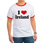 I Heart Ireland Love Ringer T
