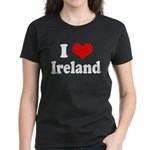 I Heart Ireland Love Women's Dark T-Shirt