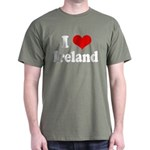 I Heart Ireland Love Dark T-Shirt