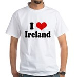 I Heart Ireland Love White T-Shirt