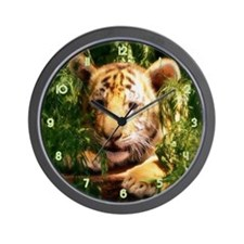 Little Tiger Wall Clock