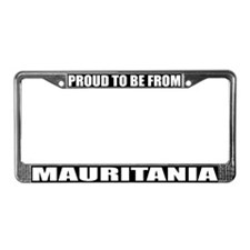 Mauritania License Plate Frame