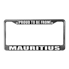 Mauritius License Plate Frame