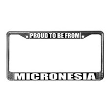 Micronesia License Plate Frame