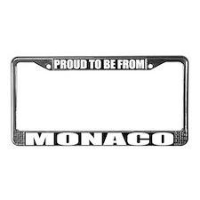 Monaco License Plate Frame