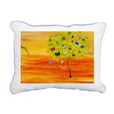 butterNC Rectangular Canvas Pillow