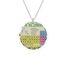 periodictable7600 Necklace Circle Charm