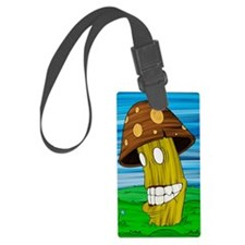 MushroomMiniPstC2 Luggage Tag