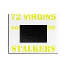 Art_72 virgins_nightstalkers_yellow  Picture Frame