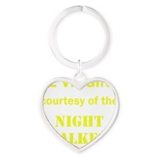 Art_72 virgins_nightstalkers_yellow Heart Keychain