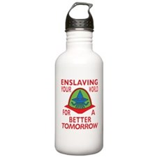 Emperor-Mollusk-Logo-B Water Bottle